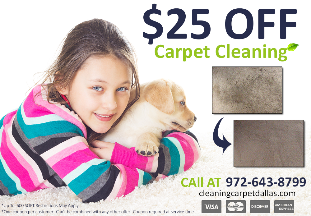 Cleaning Carpet Dallas Special Offer